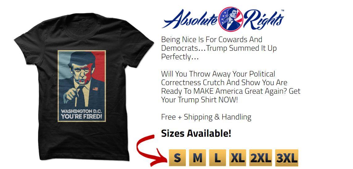 Free Donald Trump T-Shirt
