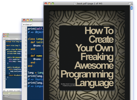 The best system to create your first programming language